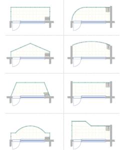 Klizni sistem - sistem 1 skica